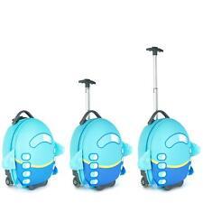 boppi Kids Cabin Bag Childrens Roller Luggage Light Kids Travel Cases AEROPLANE