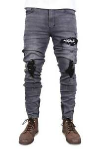 Staple Scripted Thrasher Jean Wash Black
