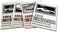 Ford Mustang Fact Book 1966 66 Fastback Coupe Convertible 200 289 GT Shelby 350
