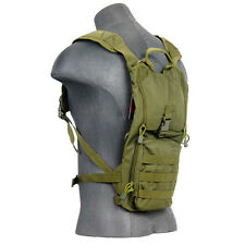 Lancer Tactical 2.5L Hydration Pack Backpack Bladder Storage Pouch Green CA-321G