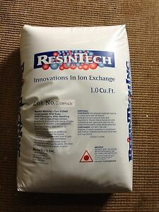 Water Softener Replacement Resin 8% Cross Linked - 1.0 Cubic Feet - High Quality