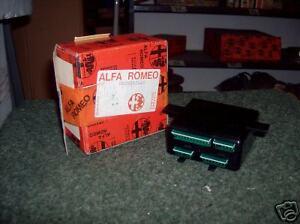 ALFA ROMEO 164 ELECTRONIC CONTROL - 60508244