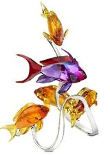 SWAROVSKI SEA GOLDIES TOPAZ #1083778 BRAND NIB COLOR FISH NICE FREE SHIPING