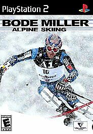 Bode Miller Alpine Skiing (Sony PlayStation 2, 2006) Ps2 Tested