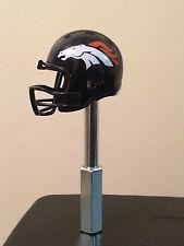 Denver Broncos Mini Helmet NFL Beer Tap Handle Football Kegerator Super Bowl AFC