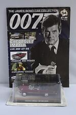 JAMES BOND 007 ROGER MOORE CHEVROLET IMPALA DIECAST MODEL #54