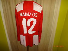 "FSV Mainz 05 NIKE MANICA LUNGA Junioren Matchworn Trikot 10/11 ""URANO"" + N. 12 Taglia XL"