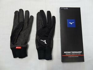 Mizuno ThermaGrip Gloves One Pair Black 9517