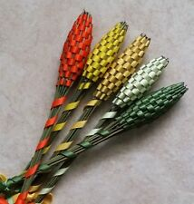 Real Lavender Wands Five 5 Medium Size Free Shipping Warm Summer Colors Handmade