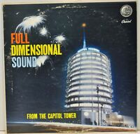 FULL DIMENSIONAL SOUND FROM THE CAPITOL TOWER   Vinyl LP  Capitol W9031