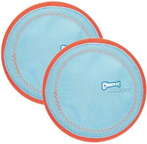 ChuckIt! Paraflight Flyer Dog Toy Large (Pack of 2)