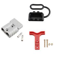 50 Amp Connectors Plug Style T-Bar Handle Dust Cap Cover 12-24V Battery