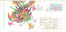 HONGKONG Hong-Kong 1997 aerogram postal stationery > Germany