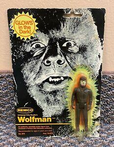1980 Remco Wolfman Glow In The Dark Vintage Universal Monsters Figure MOC
