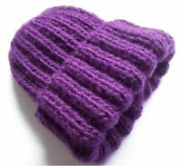 Hand Knitted Beanie Women's Hat Australia Made