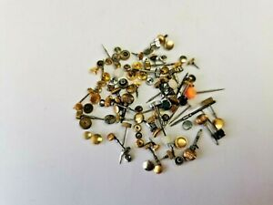 Job Lot of Vintage Watch Stems / Crowns, Various Sizes, Parts for Watchmaker