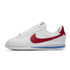 Kids Nike Cortez Basic SL GS Synthetic White Red Branded Footwear Shoes Trainers 6 UK - 39 EU