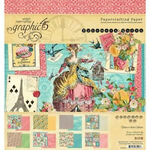 "Graphic 45 Ephemera Queen 8"" Paper Pad  24pg"