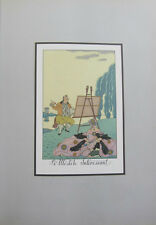 George Barbier Art Deco Costumes  Full Color Plates The ARTIST Print  great gift