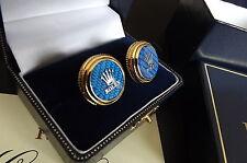 Rolex Oro Plateado y Azul Raro Gemelos Nuevo en Caja & Tarjeta
