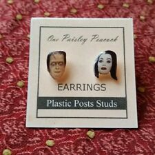 Lily and Herman Munster Earrings
