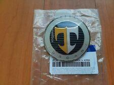OEM Trunk Emblem 'T' Badge for 07-08  Hyundai Tuscani Tiburon Coupe w/Tracking