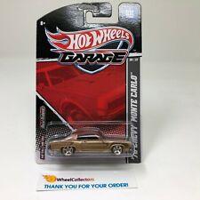 '70 Chevy Monte Carlo * BROWN/Gold * Hot Wheels Garage * HH19