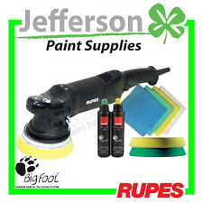 RUPES LHR15 15MM BIGFOOT RANDOM ORBITAL POLISHER KIT BUFF (LHR15ES/STN)