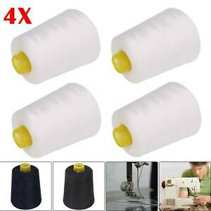 Overlocking Thread Polyester Industrial Sewing Machine 5000 Yard X4 Cones code