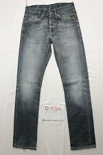 G-star coder pant slim fit jTg.44 W30 L34 eans usato (Cod.D754) boyfriend