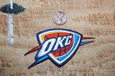 "Oklahoma City Thunder OKC 3 3/4"" Patch 2008-Present Partial Logo Basketball"