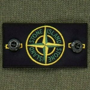 STONE ISLAND BADGE - Ricambio Originale Badge Stone Island PATCH Toppa + Bottoni