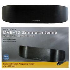 Aktive Zimmerantenne 30dB DVB-T2 Digital Full-HD-Empfang ( H.265 / HEVC ) 8L TV