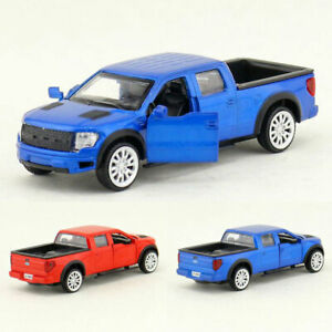 Ford F-150 Pickup Truck 1:52 Model Car Diecast Toy Vehicle Pull Back Kids Gift