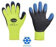 Winterhandschuhe warme Arbeitshandschuhe Thermo gefütterte Schutzhandschuhe 8-11
