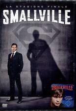 SMALLVILLE - STAGIONE 10 LA STAGIONE FINALE cofanetto 6 DVD 1°EDIZIONE ITALIANA