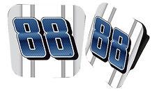 NASCAR #88 DALE EARNHARDT JR. Rubber Trailer Hitch Cover-NASCAR Hitch Cover