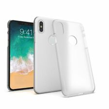 Clear Ultra Slim Skin Hard Case Semi-Transparent Matte Cover For Apple iPhone X