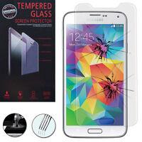 Lot/ Pack Film Verre Trempe Protecteur pour Samsung Galaxy S5 new noir SM-G903F
