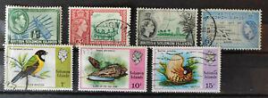 Solomon Islands 1939-1976 6 stamp assortment USED(6) MH(1)