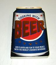 Cooking With Beer Book  2014 Cookbook Hardcover Beer Can Top Ex. Cond.