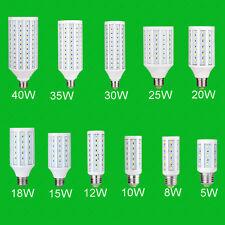 Maíz Bombilla LED 5730 SMD lámpara ahorro de energía E27/E14/B22 Hi-brillante de alta potencia