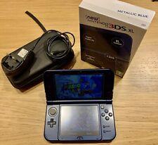 New model Nintendo 3DS XL Blue Handheld Console (2014)