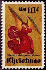 New listing 10 Mint 1974 Perussis Altarpiece Angel Stamps: Renaissance Painting 1480 Avignon
