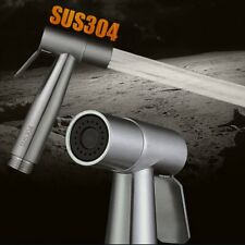 Toilet Bidet Sprayer Stainless Steel Hand Held Shattaf Bathroom Shower Head