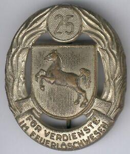 Ehrenzeichen für Verdienste im Feuerlöschwesen, 1954 2. Ausführung für 25 Jahre