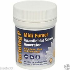 Fortefog Midi fumée insecticide fumer, Spider Mite, puces, Bed Bugs, acarien