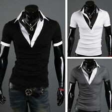 Basic Fitted Regular Size T-Shirts for Men without Multipack