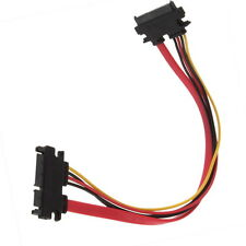 300mm 7+15 Pin Serial SATA Data power combo extension Cable HR
