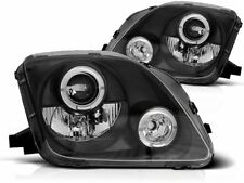 HONDA PRELUDE 1997 1998 1999 2000 2001 LPHO24 HEADLIGHTS PROJECTOR HALO